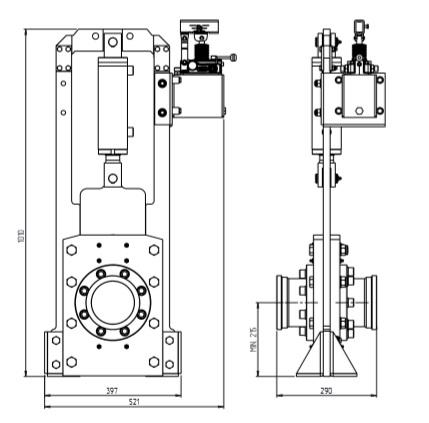 hydraulic shut off valve